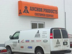 Anchor Construction Products Customer Entrance